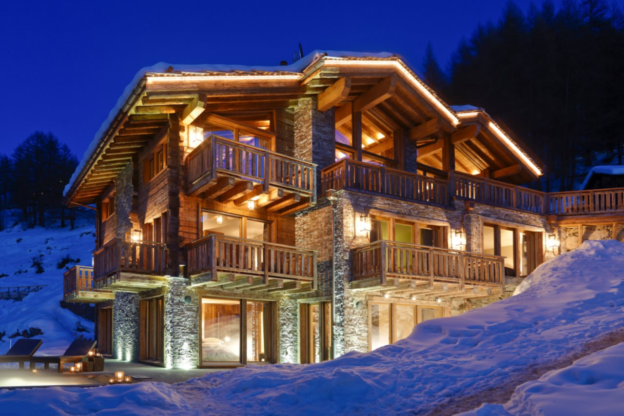 luxury log cabin switzerland
