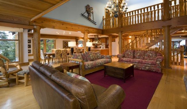luxury log cabins Canada