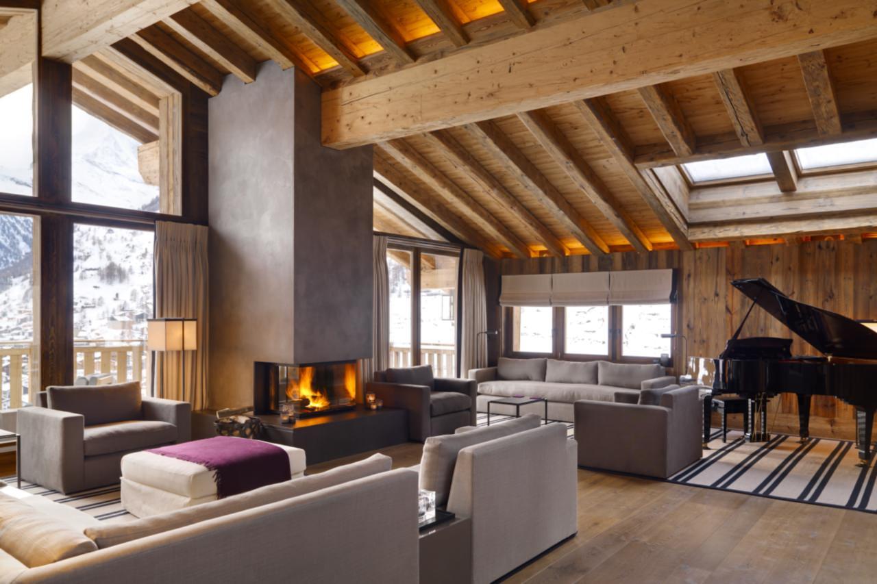 luxury log cabins zermatt