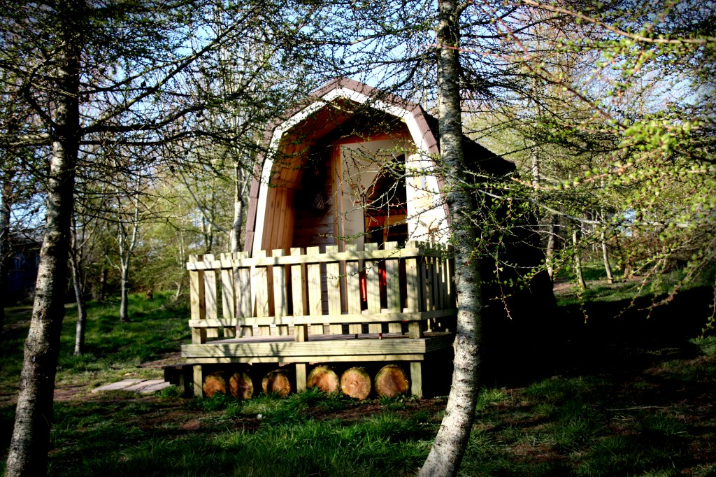 log cabin holiday in wales