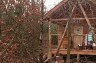 top 5 eco friendly living log cabins in the UK