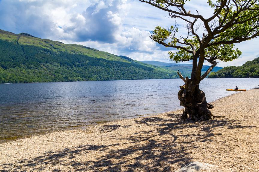 log cabin holiday in scotland Loch Lomond