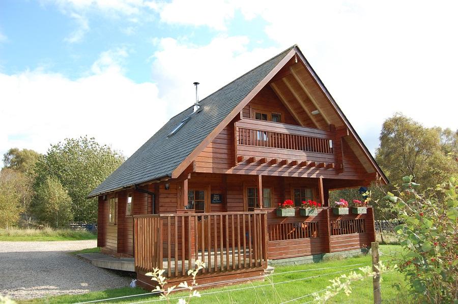 big sky log cabins