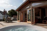 furrows farmstead lodge hot tub