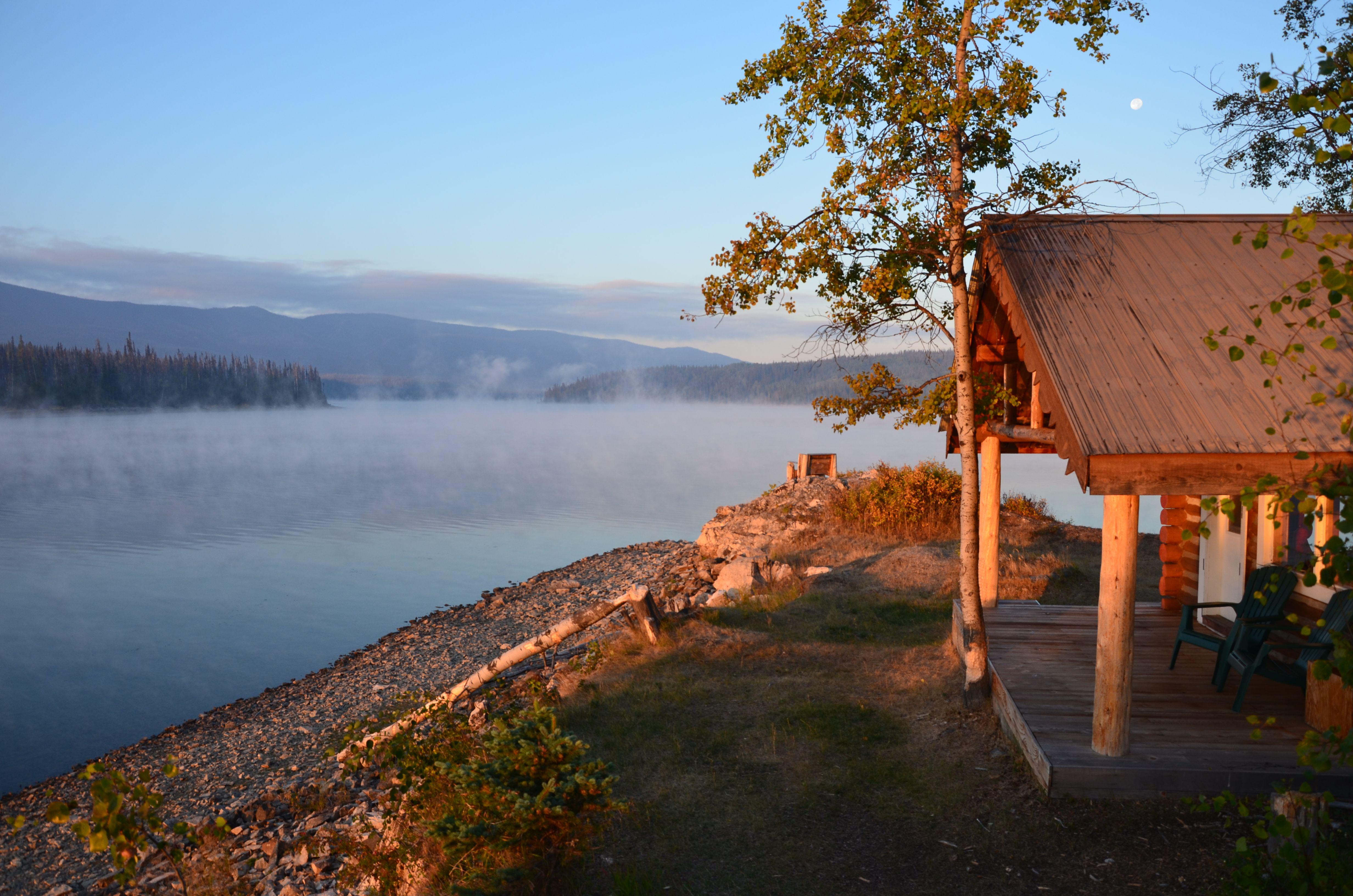 Tetachuck lodge british columbia canada for Canadian log cabins