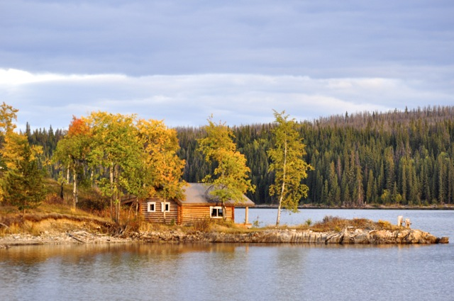 canadian log cabins