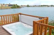 lazy swan hot tub