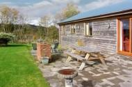 Rhiewgog log cabin