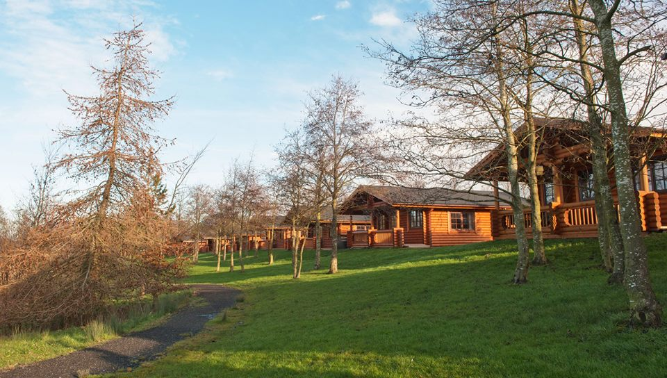 Selfcatering log cabins for fishing holidays  Holiday