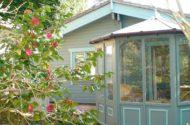 Magnolia Camelias lodge Devon
