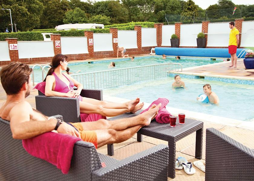 Merley woodland park dorset - Holidays in dorset with swimming pool ...