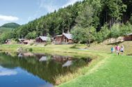 penvale lake lodges north wales setting