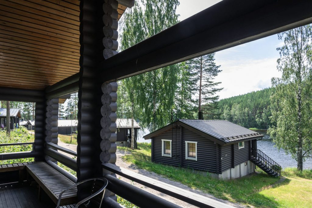 lake cabins